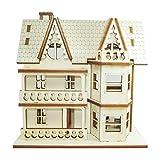 Doll House DIY Plywood Kit - Attic House 3 ★Made in Korea