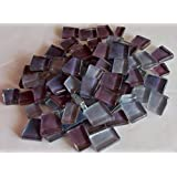 Sai Mosaic Art Pre-Cut Glass Mosaics Purple 200 Gms