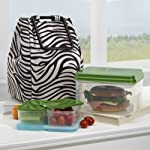 Atlanta Insulated Lunch Bag Kit with Lunch On The Go Container