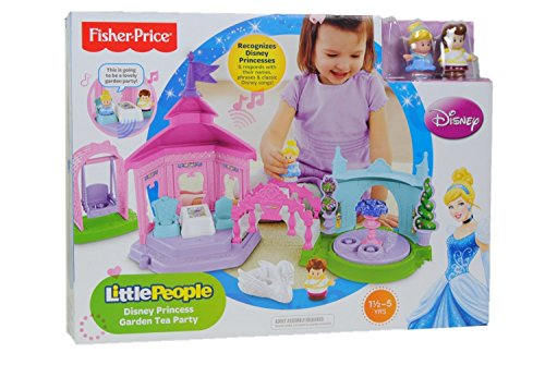 Fisher Price Little People Disney Princess Garden Tea Party