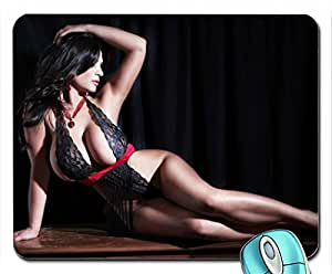 Amazon.com: Lingerie Women Denise Milani Mouse Pad(10.2 x 8.3 x 0.12