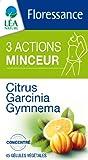 Floressance Phytothérapie Minceur Végétale 3 Actions Citrus / Garcinia / Gym Nema 45 Gélules Lot de 3