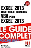 POCHE DUO�FONCTIONS FORMULES VBA EXCEL 2013