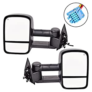 Mirrors Chevy Silverado 1500 2500 3500 Side View Mirrors For 2003-2006