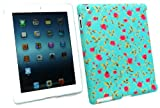 Emartbuy® New Ipad 3 & Apple Ipad 2 Rose Garden Clip on Protection Case / Cover / Skin Compatible With Smart Cover (All versions Wi-Fi and Wi-Fi + 3G/4G - 16GB 32GB 64GB)