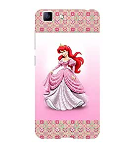ifasho Princess Back Case Cover for VIVO X5 MAX