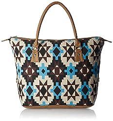 Kanvas Katha Women's Handbag (Ecru) (KKAC007)