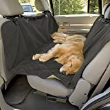 Microfiber Dog Seat Cover Hammock Pet Car Seat Protector for Cars SUV Small Medium / Large Dogs, Dark Grey (X-Large)