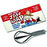 Grover 8037 Blue Grass Jaw Harp, Nickel Plated