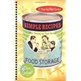 Simple Recipes Using Food Storage: A Step-By-Step Guide price comparison at Flipkart, Amazon, Crossword, Uread, Bookadda, Landmark, Homeshop18
