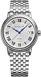 Raymond Weil Maestro Automatic Steel Mens Watch 2837-ST-00659