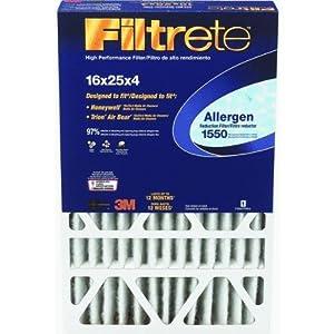 Filtrete 1550 Allergen Reduction Filter - 16x25x4