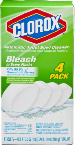 Clorox Automatic Toilet Bowl Cleaner, 3.5 Oz, 4 Count