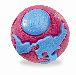 Planet Dog Orbee-Tuff Orbee Ball, Large, Pink/Blue