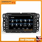 2007-13 Chevrolet Silverado 1500 2500HD 3500HD / Avalanche / Impala / Suburban 2009-2012 Traverse / Express 1500/2500/3500 In-dash Vehicle DVD GPS Navigation Stereo Satellite XM Bluetooth Hands-free Deck AV Receiver CD Player Stereo Astrium GEE-1102 SD USB FM AM iPod-Ready OEM Replacement Deck