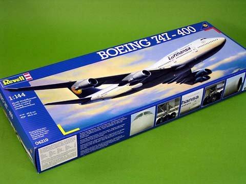 ドイツレベル 1/144 ボーイング747-400 ルフトハンザ 並行輸入品