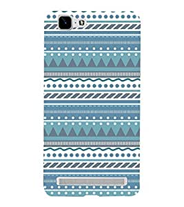 Check Tribal Lines 3D Hard Polycarbonate Designer Back Case Cover for VIVO X5 MAX