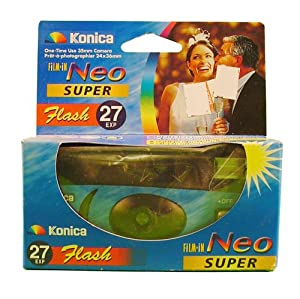 Konica Single Use Camera with Flash