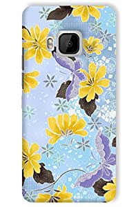 IndiaRangDe Hard Back Cover FOR HTC One M9