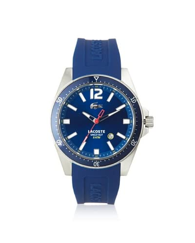 Lacoste Men's 2010665 Seattle Blue Stainless Steel Watch