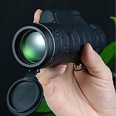 Hd Telescope 18 X 62 Dual Focus Zoom Green Optic Lens Armoring Travel Monocular Night Vision Telescope(Field of View: 100M/ 8000M) from FIVE FLOWER