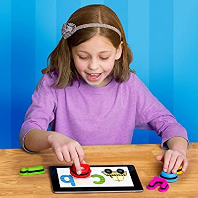 Tiggly Words: Interactive Learning Toys with Award Winning Language, Phonics and Word Building Spelling Games Kids 4-8 from Tiggly