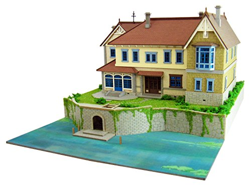 New When Marnie Was There Studio Ghibli Damp Ground Mansion 1/220 Paper Craft