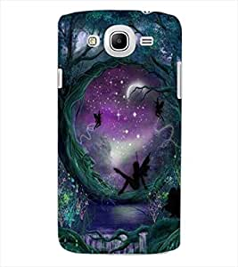 ColourCraft Heaven Garden Design Back Case Cover for SAMSUNG GALAXY MEGA 5.8 I9150