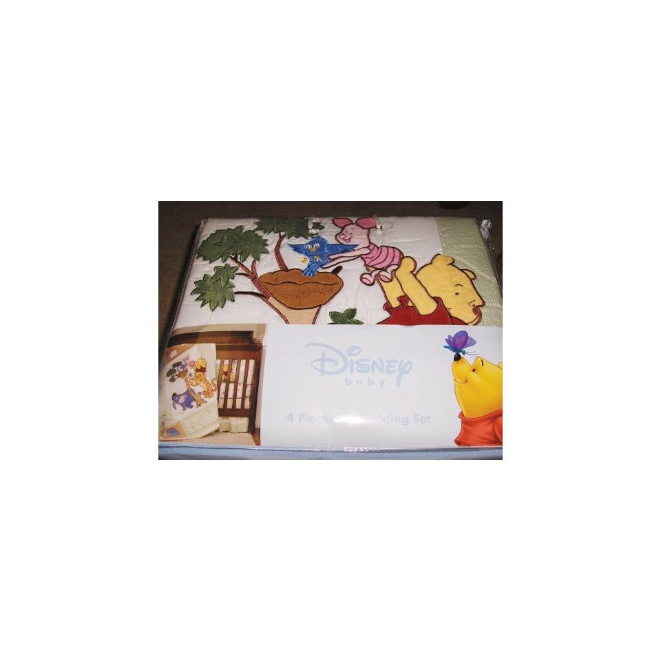 Winnie The Pooh Sunshine Patch 4-Piece Crib Bedding Set ...