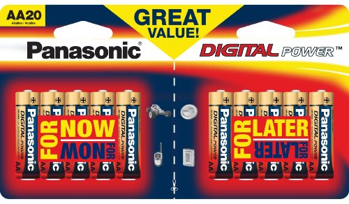 Panasonic Digital Power Alkaline Batteries