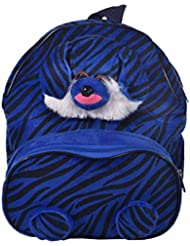 Blue Sky Fabric 6 Liters Blue And Black School Backpack