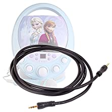 buy Duragadget Auxiliary (Aux) 3.5Mm Male Stereo Jack To Jack Connecting Cable For Disney Princess Karaoke And Cd Player