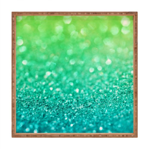 DENY Designs Lisa Argyropoulos Sea Breeze Indoor/Outdoor Square Tray, 16 x 16 (Deny Sea Breeze compare prices)
