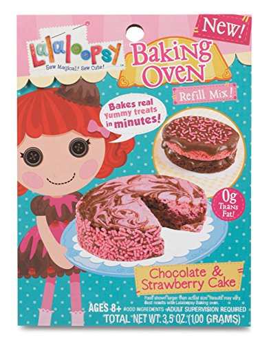 Lalaloopsy Baking Oven Mix- Chocolate & Strawberry Cake - 1