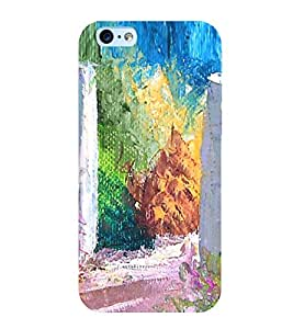 Colourful Painting 3D Hard Polycarbonate Designer Back Case Cover for Apple iPhone 6 Plus :: Apple iPhone 6+