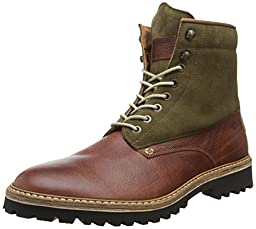 1883 by Wolverine Men\'s Tomas Plain Toe Fashion Sneaker,Brown,10 M US