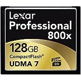Lexar Professional 128GB 800x Speed (120MB/s) UDMA 7 CompactFlash Memory Card