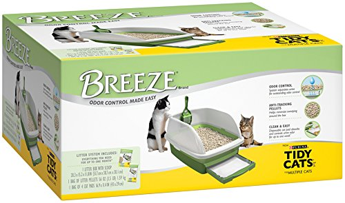 Tidy Cats Breeze Litter Box System for Multiple Cats, 1-Count Kit