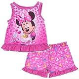 Komar Kids Little Girls'  Minnie Mouse 2Pc Pajama Short Set