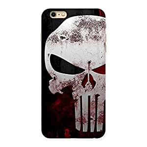 Ajay Enterprises Bleed Red Skull Back Case Cover for iPhone 6 Plus 6S Plus