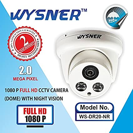 Wysner-WS-DR20-NR-2MP-Dome-CCTV-Camera