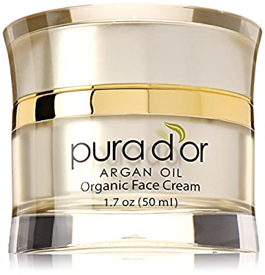PURA D'OR Organic Anti-Aging Face Cream, 1.7 Ounce