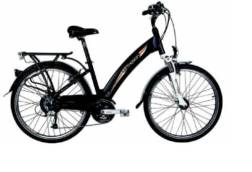 Emotion Neo Street - Electric Bicycles (Black)