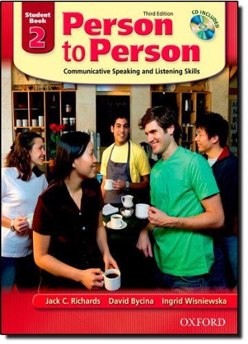 Person to Person: Communicative Speaking and Listening...