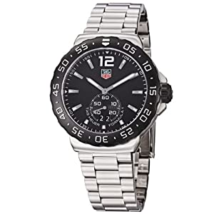 TAG Heuer Men's WAU1110.BA0858 Formula 1 Black Dial Stainless Steel Quartz Watch