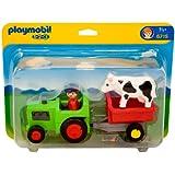 Playmobil - 6715 - Jeu de construction - Fermier / tracteur
