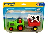 Playmobil 1.2.3 6715 Farmer with Tractor
