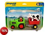 Playmobil 6715 - Giocattolo, Trattore con agricoltore