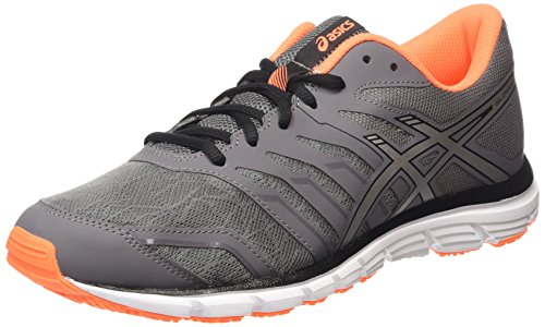 ASICS Gel-zaraca 4 - Scarpe Running Uomo, Nero (carbon/silver/hot Orange 9793), 44 1/2 EU