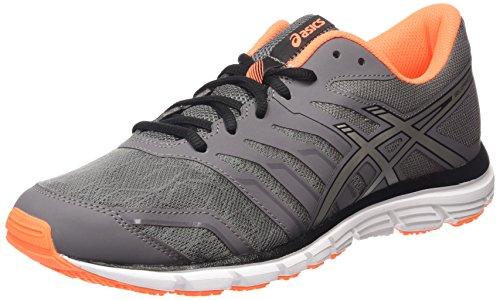 ASICS Gel-zaraca 4 - Scarpe Running Uomo, Nero (carbon/silver/hot Orange 9793), 44 1/2 EU